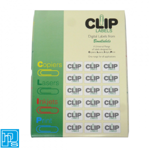 CLIP labels are suitable for printing by Laser, Inkjet, Copier and Professional Litho & Letterpress Printing machines.