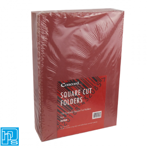 Concord-Square-Cut-Folders-RED