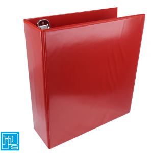 D-Ring-Presentation-Folder-Red