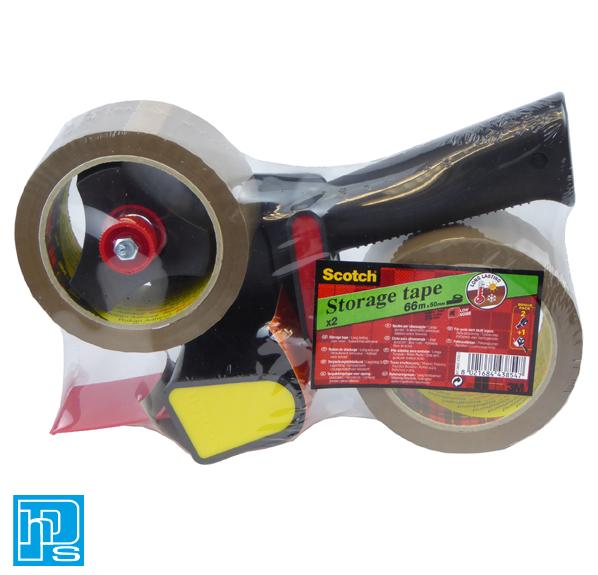 Scotch Pistol Grip Tape Dispenser with 2 Rolls