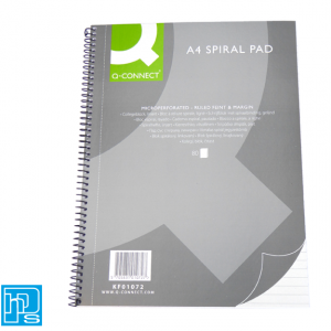 Q-Connect A4 Spiral Pad