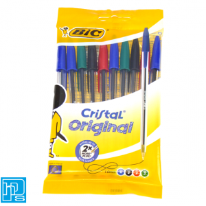 Bic Pens Assorted Pack of 10