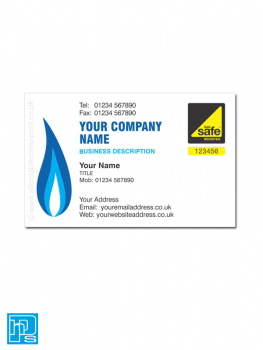 Gas Safe Business Cards