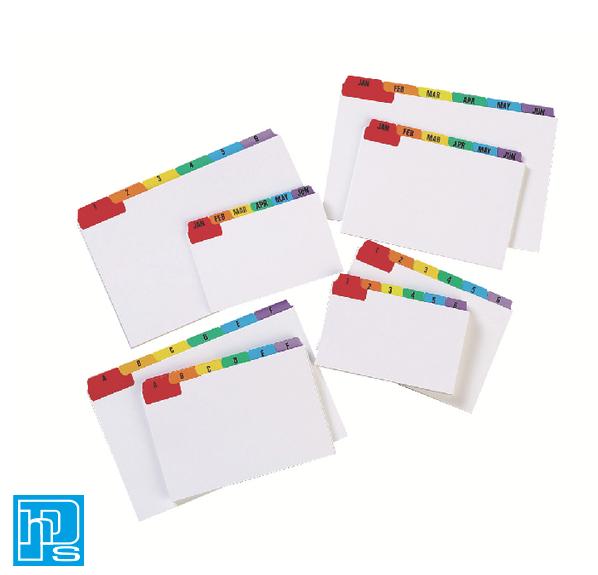 Concord Multicolour Guide Card 127x76mm