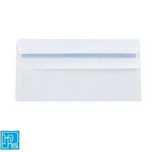 DL Self Seal White Envelope Plain