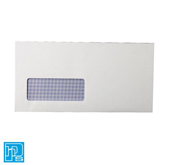 Envelope DL Window 80gsm Self Seal White
