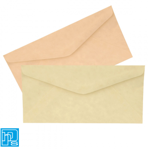 DL Parch Marque Envelopes Natural & Powder Pink