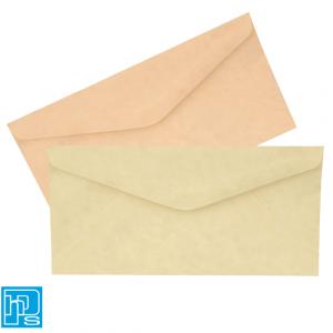 DL Parch Marque Envelopes Natural & Powder Pink