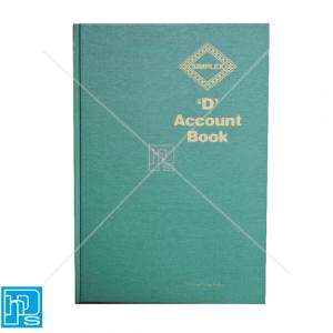 Simplex-D-Accounts-Book