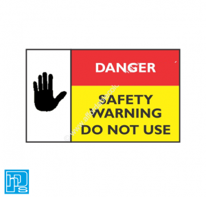 safety warning label