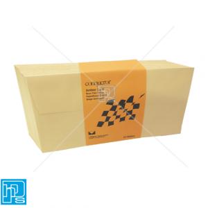Conqueror Laid Amber DL Envelope