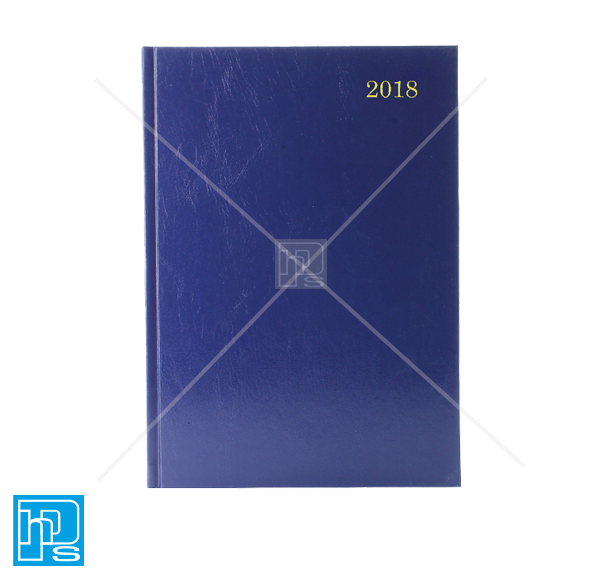 2018 A5 week to view diary