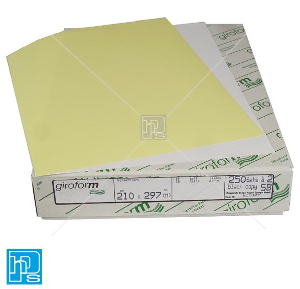 Giroform white/Yellow-2pt-NCR