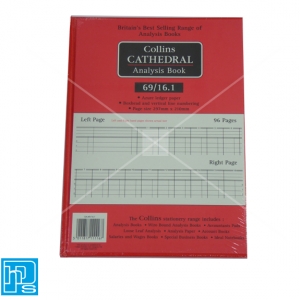 Collins Cathedral Analysis Account book 69/16.1