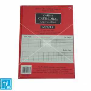 Collins Cathedral Analysis Account book 69/3/9.1