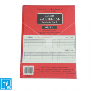 Collins Cathedral Analysis Account book 69/4.1