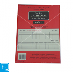 Collins Cathedral Analysis Account book 69/6.1