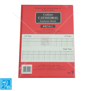 Collins Cathedral Analysis Account book 69/14.1