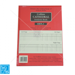 Collins Cathedral Analysis Account book 69/5.1